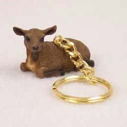 Goat Keychain