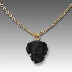Flat Coated Retriever Necklace