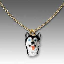 Siberian Husky Necklace