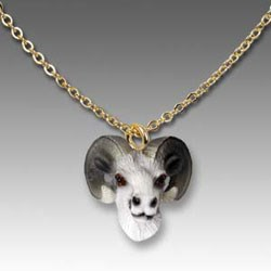 Big Horn Sheep Necklace