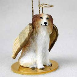 Borzoi Christmas Ornament