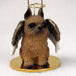 Brussels Griffon Christmas Ornament
