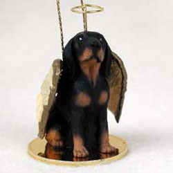 Coonhound Christmas Ornament