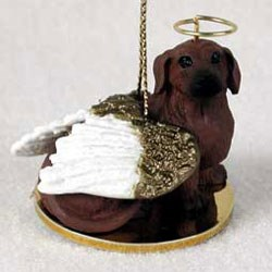 Dachshund Christmas Ornament