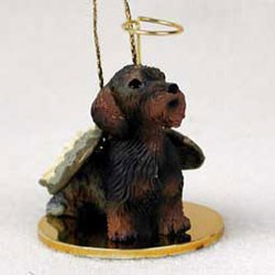 Wirehaired Dachshund Ornament