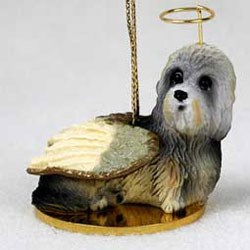 Dandie Dinmont Ornament