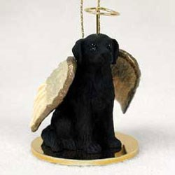 Flat-Coated Retriever Ornament