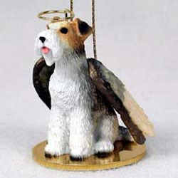 Wire Fox Terrier Ornament