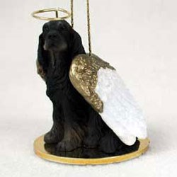 Gordon Setter Christmas Ornament