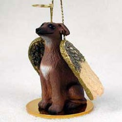 Italian Greyhound Christmas Ornament