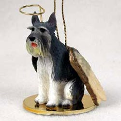 Schnauzer Christmas Ornament