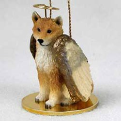 Shiba Inu Christmas Ornament