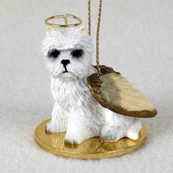 West Highland Terrier Christmas Ornament