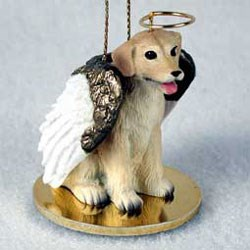 Yellow Lab Christmas Ornament