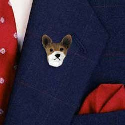 Basenji Pin