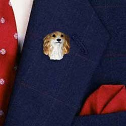 Borzoi Pin