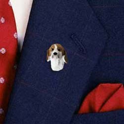 Foxhound Pin