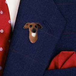 Italian Greyhound Pin