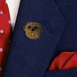 Norfolk Terrier Pin