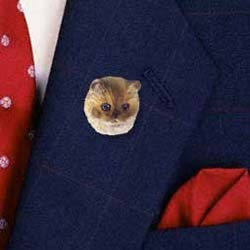 Ragdoll Cat Pin