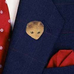Scottish Fold Cat Pin