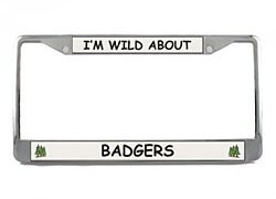 Badger License Plate Frame
