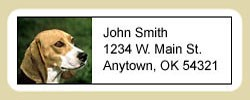 Beagle Address Labels