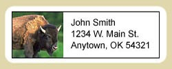 Buffalo Address Labels