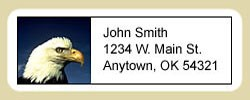 Eagle Address Labels