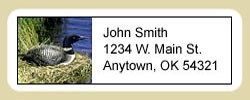 Loon Address Labels