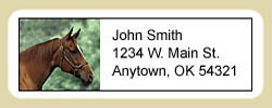 Quarter Horse Address Labels