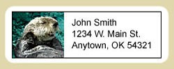 Sea Otter Address Labels