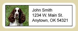 Springer Spaniel Address Labels