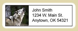 Wolf Address Labels