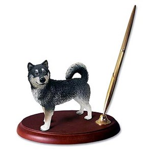 Alaskan Malamute Pen Holder