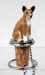 Basenji Bottle Stopper
