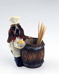 Basset Hound Toothpick Holder