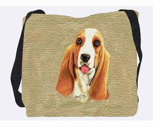 Basset Hound Tote Bag