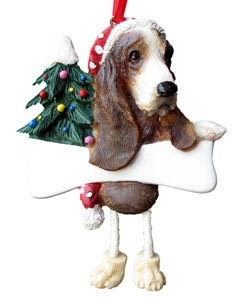 Basset Hound Ornament