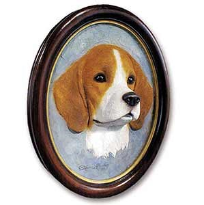 Beagle Sculptured Portrait