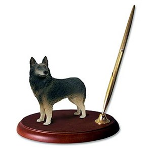 Belgian Turvuren Pen Holder
