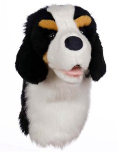 Bernese Mountain Dog Golf Headcover