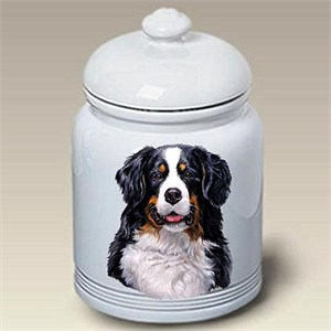 Bernese Mountain Dog Treat Jar