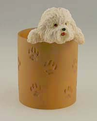 Bichon Frise Pencil Holder