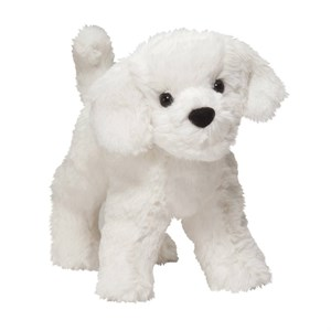 Bichon Frise Plush Stuffed Animal 8 Inch