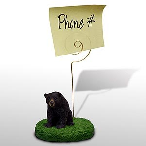 Black Bear Note Holder