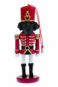 Black Lab Ornament Nutcracker