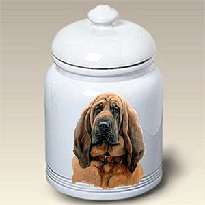 Bloodhound Treat Jar