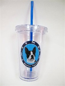 Boston Terrier Tumbler
