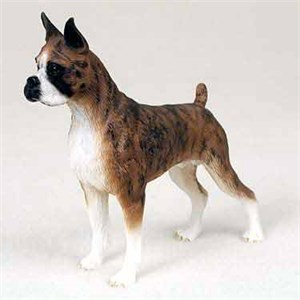 Boxer Figurine Brindle